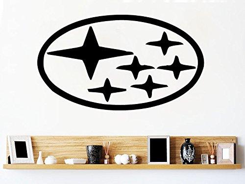 Subaru Wall Decals Vinyl Sticker Emblem Logo Decal Garage Interior Studio Decor Bedroom Dorm SM122
