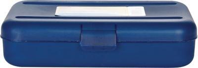 Staples Pencil Box Translucent Blue