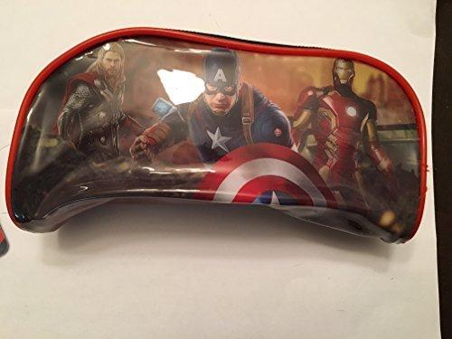Avengers Age of Ultron Pencil Case Pouch RedBlack