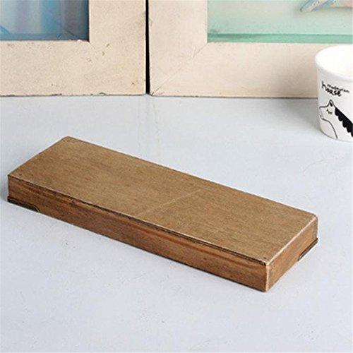 Funnytoday365 Diy Wooden Cosmetic Desktop Storage Box Wooden Pencil Box