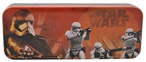 Disney Star Wars The Force Awaken - Metal Tin Case Pencil Box STORM T