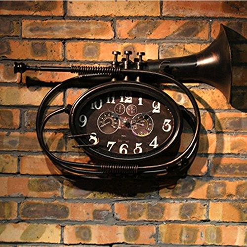 Iron instrument shape wall clock soft wall hanging ideas wall clock decoration58cmx 40cm