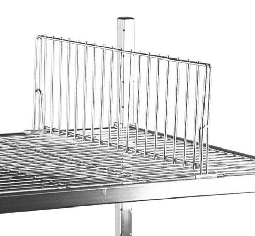 SPG SDU18C Heavyweight Shelf Dividers Wire Shelf Divider 8 Height 18 Length