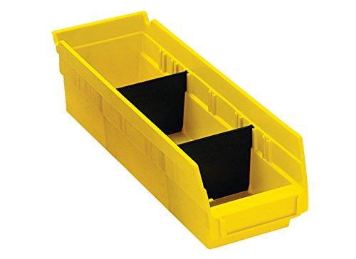 RetailSource 9 78 x 3 Plastic Shelf Bin Divider