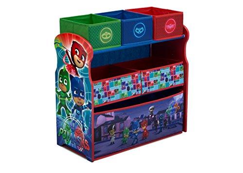 Delta Children 6-Bin Toy Storage Organizer PJ Masks