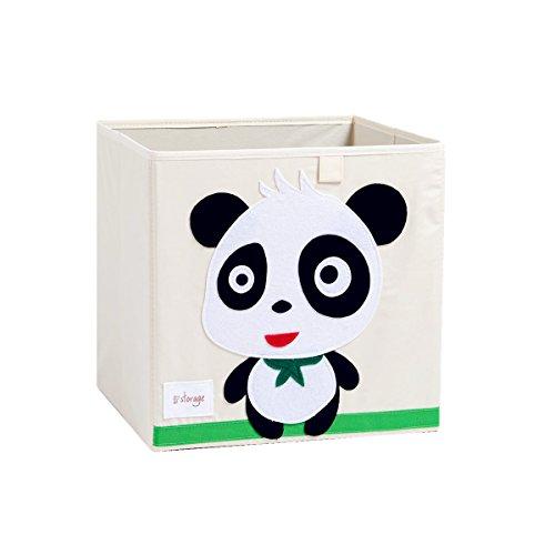 NKitchen Foldable Animal Canvas Storage Box Toy Bin Panda