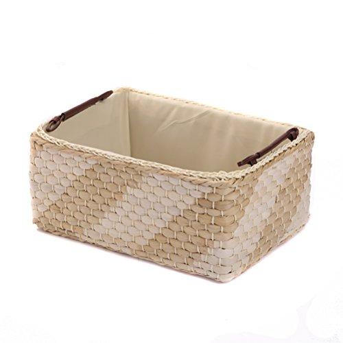 Storage Baskets Containers Maize Bins Rectangular BoxesKingwillowNatural Medium