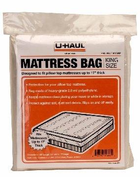 UHaul King Pillow Top Mattress Bag Moving Storage