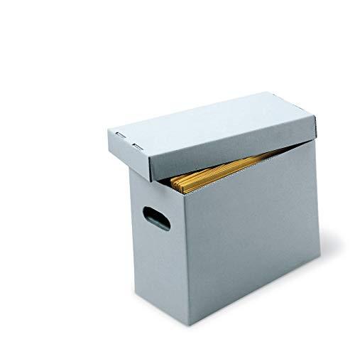 Gaylord Archival Half-Size Record Storage Box - Letter 6 12W x 12 12L x 10H