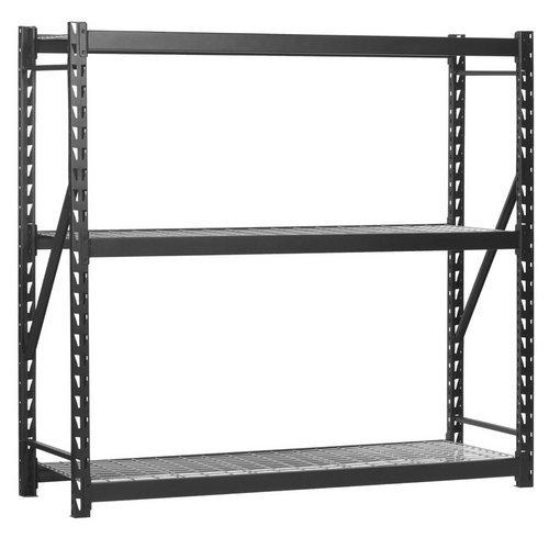 Edsal 3-Shelf Industrial Storage Rack - 72inW x 24inD x 72inH Model 7224