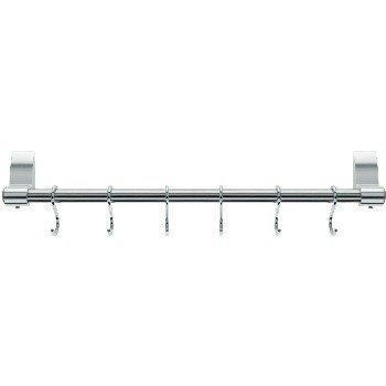 Stellar Stainless Steel 60cm 8 Hook Hanging Rack