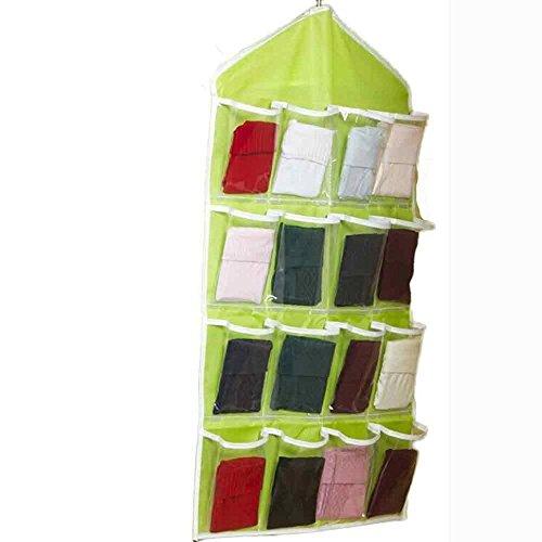 Trenton Socks Shoe Toy Underwear Sorting Storage Bag Door Wall Hanging Closet Organizer