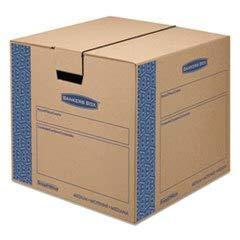 SmoothMove Moving Storage Box Extra Strength Medium 18w x 18d x 16h Kraft