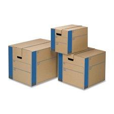SmoothMove Moving Storage Box Extra Strength Small 12w x 12d x 16h Kraft 10 Per Carton