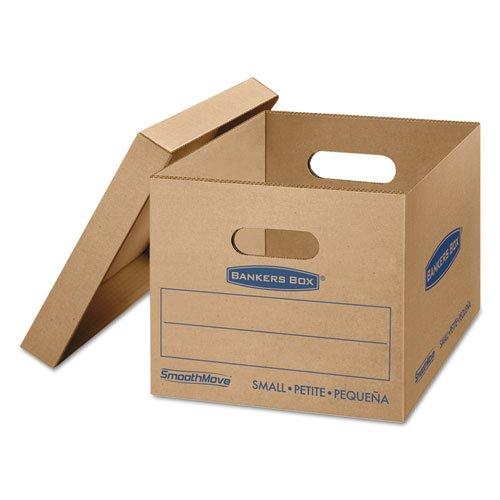 SmoothMove MovingStorage Boxes 16 14l x 12 12w x 10 12h Kraft 10Carton Sold as 10 Each