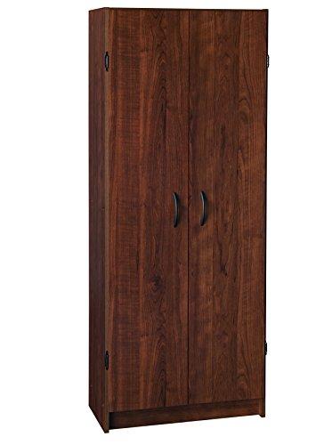 ClosetMaid 1308 Pantry Cabinet Dark Cherry