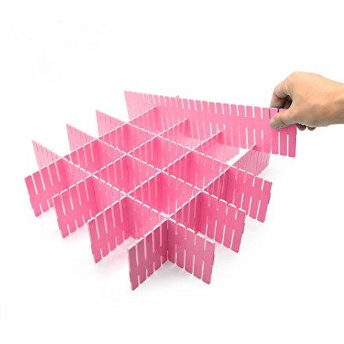 Closet Underwear Organizer Partitions Board Organizer Drawer Divider DIY Drawer Organizer Household Storage Tool DIY Affordable Divider Underwear Socks Home Items Storage8PCS