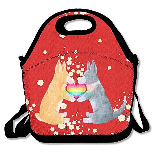 Funny Puppy Stylish Lunch Box Lunch Bag