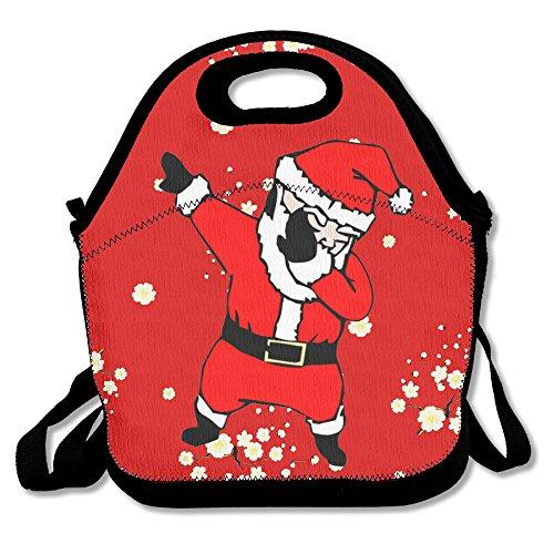 Santa Dab Stylish Lunch Box Lunch Bag