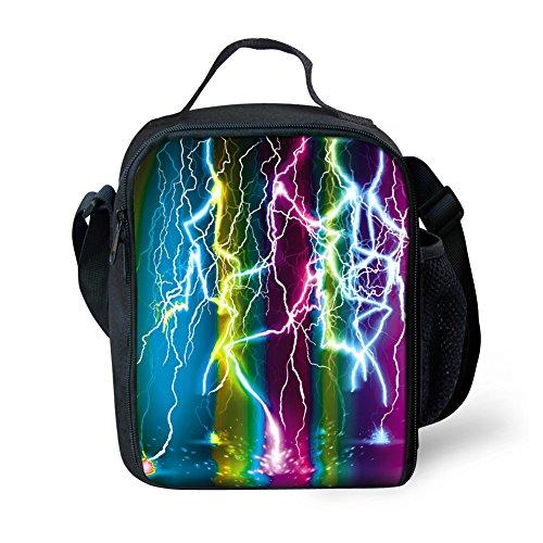 Stylish Lunch Box Messenger Bag School Supplies Gift for Children