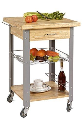 Corner Housewares Pro Rolling Storage and Organization Kitchen Cart