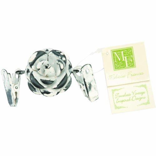 Melissa Frances Double Clip Decorative Hangers Flower