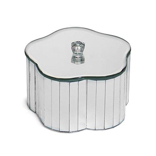 American Atelier 1182181 Flower Shape Mirror Jewelry Box