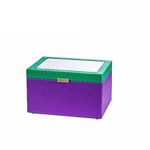 jewel boxPU leather leather jewelry boxJewelry drawer Organizer-C