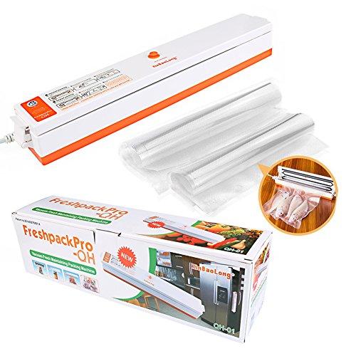 Vacuum Sealing System for Food Preservation Vacuum Packer Bag Sealer Includ Packaging Machine 15pcs Bag Fresh Food Money Saver