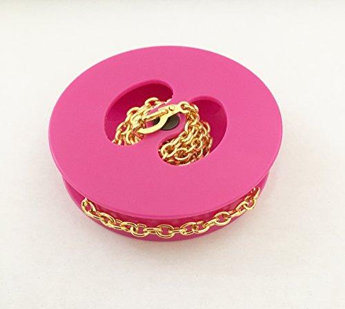 Linkcinch Traveller Necklace Storage Device Pink