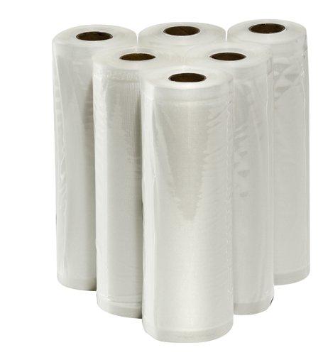VacMaster Six 8 X 20 Rolls of Vacuum Sealer Bags for Foodsaver