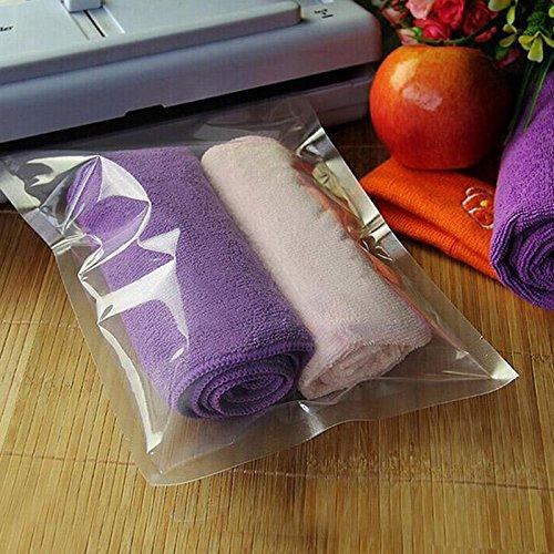 1523cm-100PCS Vacuum Food Storage Sealer Bag Space Packing Saver Bags and Sealers New