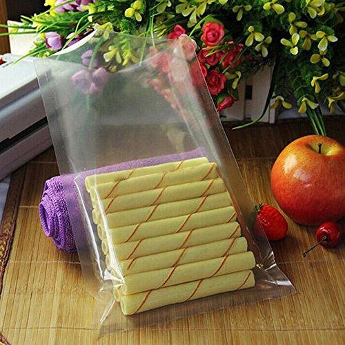 1825cm - 100PCS Vacuum Food Storage Sealer Bag Space Packing Saver Bags and Sealers New