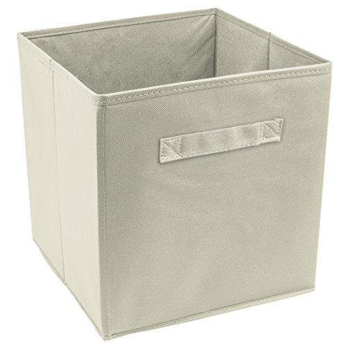 Sorbus Cube Storage Bin Beige