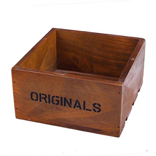 Stuffwholesale Natural Wood Storage Box Office SuppliesPlantJewelry Organization