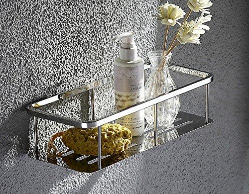 Ueannryer Stainless Steel 304 Bathroom Thickening Bathroom Rack Bathroom Toilet Hanging Basket