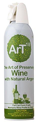 ArT Wine Preserver  Enjoy Your Wine - Longer  Argon Wine Saver