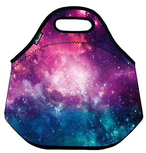 Shubb Insulated Lunch ToteThermal Lunch BagCoolerLunch BagPicnic Bag for Women Men Girls Purple