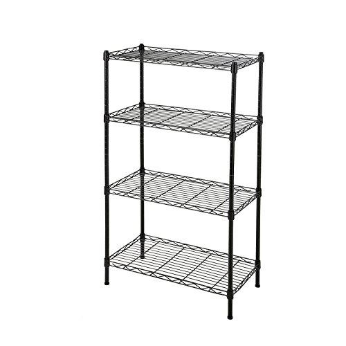 GEYUEYA Home 4-Tier Home Kitchen Storage Rack