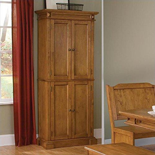 Home Styles 5004-69 Americana Pantry Storage Cabinet Distressed Oak Finish