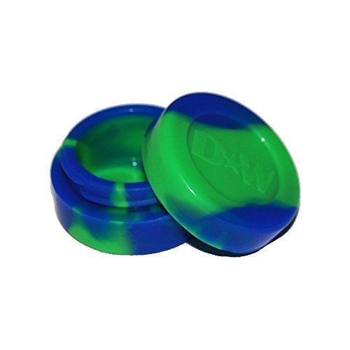 Blue  Green Non Stick Silicone Oil Kitchen Container Jar  Bonus Enamel Pin Wholesale Pricing 5