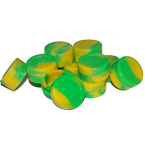 Green  Yellow Non Stick Silicone Oil Kitchen Container Jar  Bonus Enamel Pin Wholesale Pricing 50