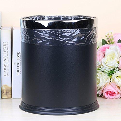 fashion creative household trash canOffice trash binKitchen storage bins-A
