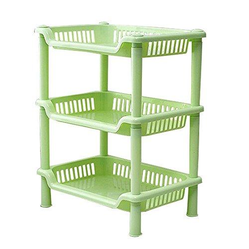 Kitchen Storage Carts Tier Plastic Corner Shelf Storage Shower Bathroom Kitchen Organizer Rack organizer rack kitchen organizer rack cabinet Green