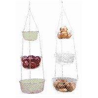 Stylish Attractive 3-Tier Food Storage Basket
