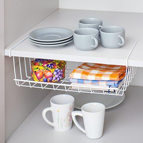 Artmoon Extra Under Shelf Metal Storage Basket