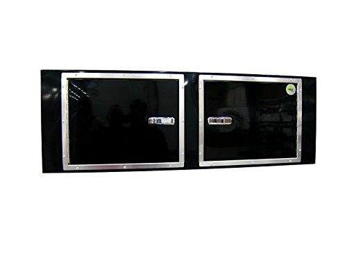 Neo Storage Square Cabinet Black 48