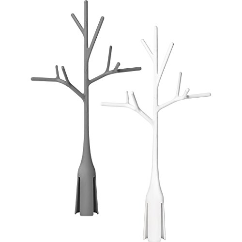Boon Twig Drying Rack Accessory 2 Pack Gray and White