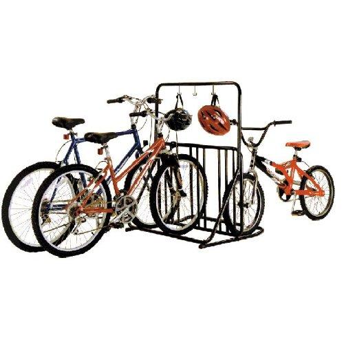 gearup 6-Bike Rack and Accessory Bar Black