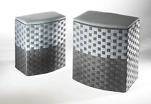 Laundry container greily half-round nylon  set